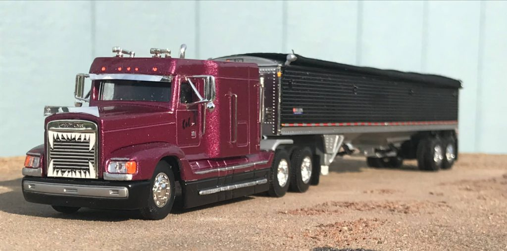 Scale Reproduction Truck and Trailer